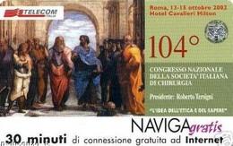 *NAVIGAGRATIS - N.2 - CONGR. NAZ. CHIRURGIA* - Scheda NUOVA (MINT) (FT) - Unclassified