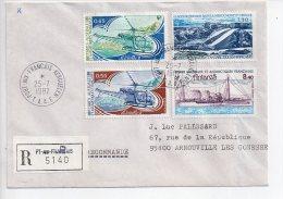 TAAF1 Enveloppe Alfred Faure Pont Aux Français Dumont D'Urville  T.A.A.F Terres Australes Et Antartiques Française - Cartas