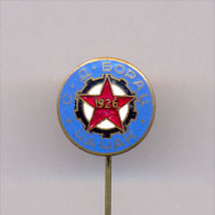 FOOTBAL / SOCCER , CLUB ´´SD BORAC´´-  CACAK , SERBIA, Enamelled OLD Pin Badge From 1960th. - Bowling