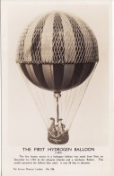 Aircraft RP Postcard First Hydrogen Balloon Ascent 1783 Science Museum Model - Balloons