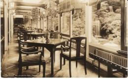 Fujiya Hotel Tea Lounge Miyamashita Spa Japan, Asia, C1920s Vintage Photograph - Places
