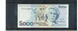 BRASILIEN , BRAZIL , 5000  Cinco Mil Cruzeiros ,   Pick #232b - Brasilien
