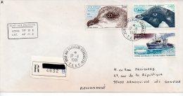 TAAF2 Enveloppe Alfred Faure Pont Aux Français Dumont D'Urville  T.A.A.F Terres Australes Et Antartiques Française - Cartas