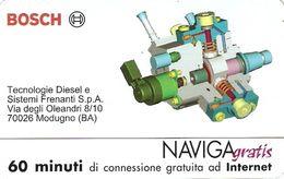 *NAVIGAGRATIS - N.50 - BOSCH* - Scheda NUOVA (MINT) (FT) - Unclassified