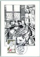 Carte Maximum - Paris (75) - 4 Avril 1981 - Atelier Du Relieur Au XVIè Siècle - Maximum Cards