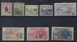 Frankrijk, Yv 162-69, Postfris Met Scharnier, (MH) Cote 255 Euro, Zie Scan - Neufs