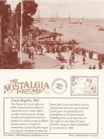 Postcard COWES REGATTA 1911 The Parade Nostalgia Isle Of Wight Boats Repro - Sailing