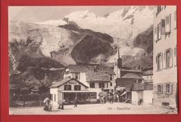 YSAF-09 Dorf Saas-Fee, Belebt, ANIME. Non Circulé - VS Valais
