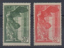 Frankrijk, Yv 354-55  Postfris Met Plakker, (MH)  Cote 170,00 Euro, Zie Scan - Neufs