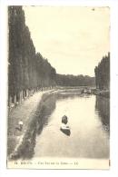 Cp, 77, Melun, Une Vue Sur La Seine - Melun