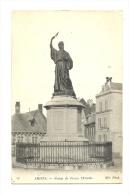 Cp, 80, Amiens, Statue De Pierre L'Ermite - Amiens