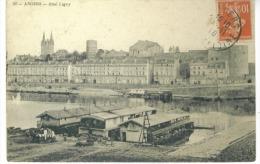 CP DP49 Angers Quai Ligny 1910 - Angers