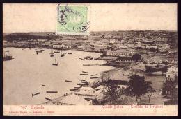 LUANDA Cidade Baixa - Tomada Da Fortaleza. EDITOR Eduardo Osorio Loanda. Old Postcard ANGOLA / AFRICA 1900s - Angola