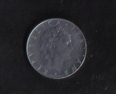 ITALY  -   50 LIRA   1967  / V.F. - 50 Lire