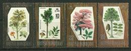 "British Honduras     "" Hardwood Trees""   Set   SC# 230-33   MNH** - British Honduras (...-1970)"