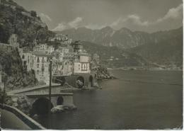 Amalfi Coastline Used Card Italy To Australia 1962 Postmark - Other Cities