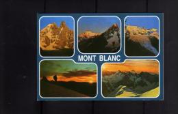 ITALIA REPUBBLICA ITALY REPUBLIC CARTOLINA MONT BLANC MONTE BIANCO 5 9 2006 POSTA PRIORITARIA EURO 0,60 - Cartes Postales