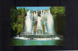 ITALIA REPUBBLICA ITALY REPUBLIC CARTOLINA ROMA TIVOLI VILLA D'ESTE 1 10 1981 CONSIGLIO DI STATO - Tivoli