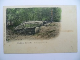 95 : Forêt De Carnelle - Pierre Turquoise - Type Précurseur - Colorisée - Petites Taches - (n°822) - France