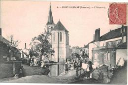 Carte Postale Ancienne De SIGNY L´ABBAYE - Other Municipalities