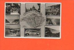 A Motor Tour Of The Isle Of WIGHT (pli) - Non Classés