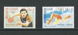 Belgique: 2646/ 2647 **  Atlanta 96 - Ete 1996: Atlanta