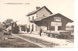 AIGREFEUILLE - La Gare Avec Train  - N°11 - Aigrefeuille-sur-Maine