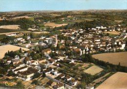 CPSM  -    SAINT - PALAIS   (64)   Vue Panoramique Aérienne - France