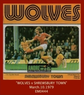 "EM0444  (1979) ""WOLVES V SHREWSBURY TOWN""  (FA Cup 6th Round Football Programme) - Books"