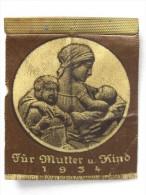 NSV Für Mutter Und Kind 1934 - Spendenabzeichen Der NS-Volkswohlfahrt 3. Reich 1934 - Germania