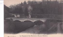 """BONNE MODAVE """"Le Hoyoux Et Les Rochers à Bonne-Modave""""  écrite En 1908   Voir Scans - Huy"""