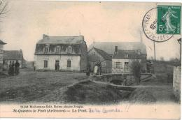 Carte Postale Ancienne De SAINT QUENTIN LE PETIT - Other Municipalities