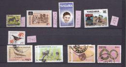 Tanzanie Avec Numérotation Michel   A VOIR - Tansania (1964-...)