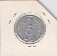 5 MILLIM 1983 - Tunisie