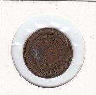 1 CENTESIMO Bronze 1869 - Uruguay
