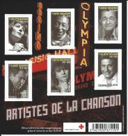 FEUILLE N° F4605 - F 4605 - NEUF LUXE - Grands Noms De La Chanson Française. Année 2011. - Mint/Hinged