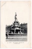 CP, 69, LYON,  Place Morand, Monument De La Ville De Lyon, Vierge - Lyon