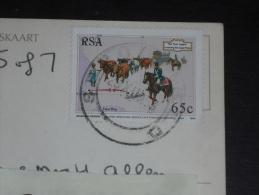CPM AFRIQUE DU SUD SOUTH AFRICA - YT 826 - CHAR BOEUFS - JOURNEE DU TIMBRE - MOSSEY BAY HARBOUR - - Afrique Du Sud (1961-...)