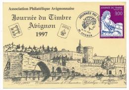 Carte Locale - Journée Du Timbre 1997 - AVIGNON - France