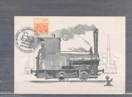 Jugoslavija -  125  Godina Jugoslovenskih  Zeljeznica -  Sarajevo 17/9/1974 (RM2600) - Trains
