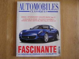 AUTOMOBILES CLASSIQUES N° 135 BMW  Aston DB Rolls Royce Maybach Gabriel Voisin Ferrari 612 - Auto/Moto