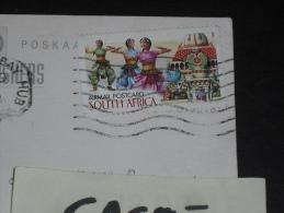 CPM AFRIQUE DU SUD SOUTH AFRICA - YT PA 35 - KWAZULY NATAL - TEMPLE HINDOU DANSEUSE - FOREST FALLS - - Afrique Du Sud (1961-...)