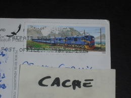CPM AFRIQUE DU SUD SOUTH AFRICA - YT PA 36 - TRAIN BLEU LOCOMOTIVE - LE CAP CAPETOWN - - Afrique Du Sud (1961-...)
