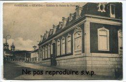 - Portugal - GUARDA - Edificio Do Banco De Portugal, Non écrite, Belle, BE, Scans. - Guarda