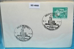SD4668 BM-Ausst. Halle-Magdeburg-Potsdam, 409 Halle-Neustadt DD 31.8.1975 - [7] République Fédérale