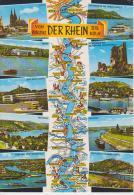(DE923) VON KOBLENZ BIS KOLN. DER RHEIN - Koblenz