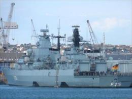 "BATph05 -  Frégate Allemande ""BRANDENBURG"" F215 - Bundesmarine - 3 Photos - Warships"