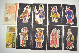 (AR5) Lot De Buvards Des Années 1950 - 1960. Gayant / Chocolat / Vandamme - Papel Secante