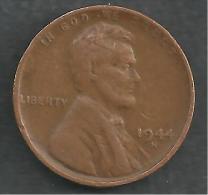 UNITED STATES 1 CENT COIN 1944 - EDICIONES FEDERALES