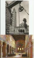 ABBAZIA DI POMPOSA Ferrara Particolare Abside E Colonnato Bizantino 2 Cartoline - Ferrara